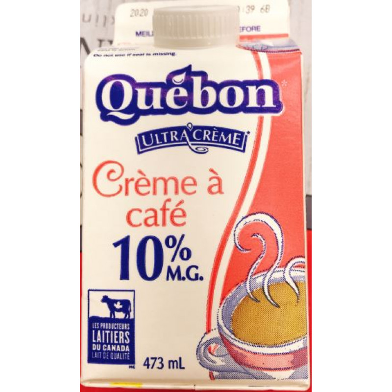 Quebon Cafe cream - 10%