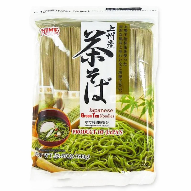J-basket: Japanese Green Tea Noodles-800g