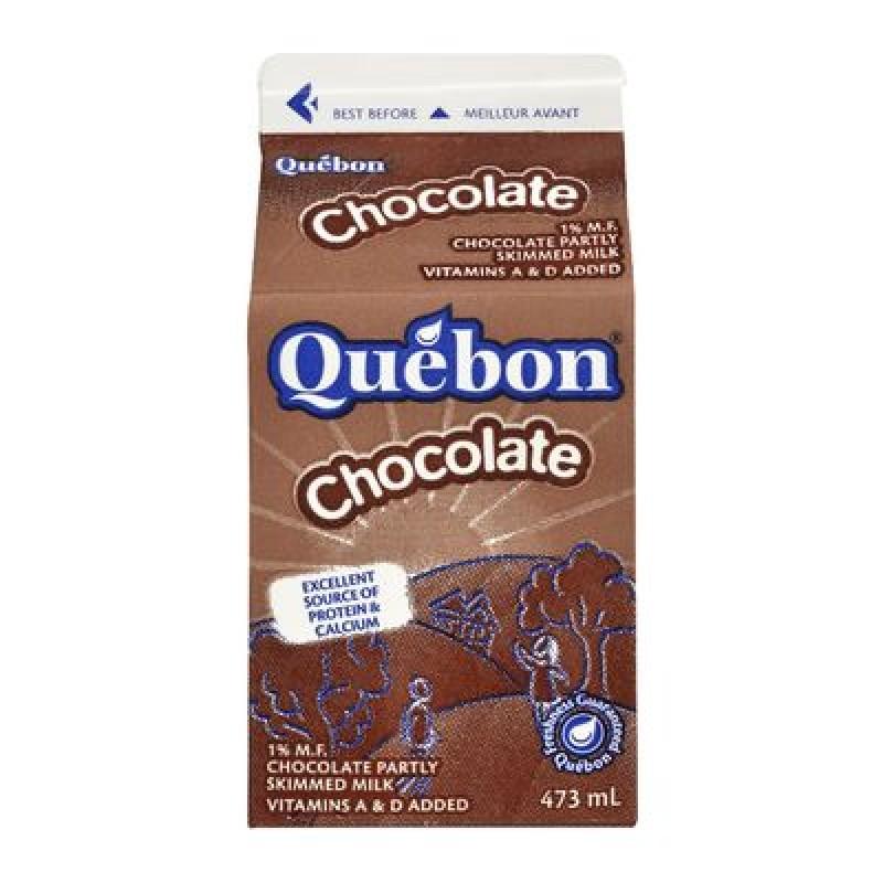 QUÉBON 1% Chocolate Milk 473ML