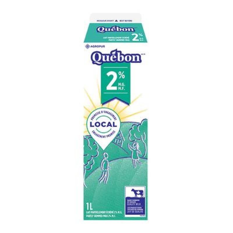 QUÉBON Milk 2% 1L