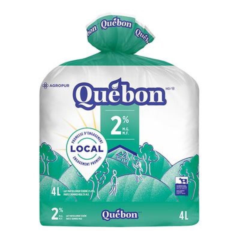 QUÉBON Milk 2% 4L