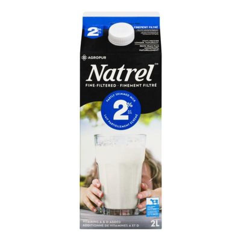 NATREL Milk 2% 2L