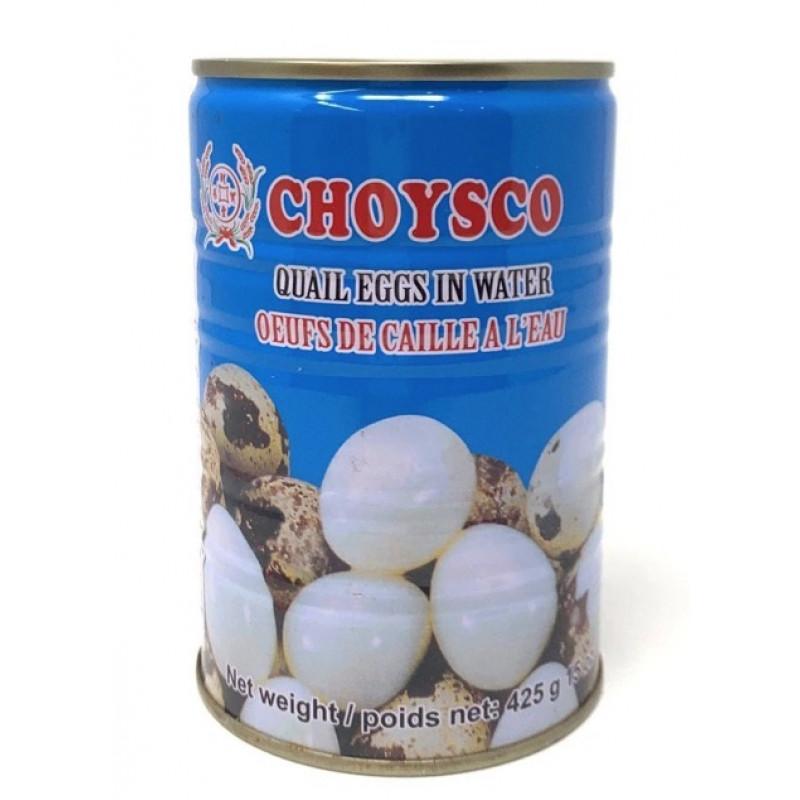 CHOYSCO Quail Eggs In Water 425g