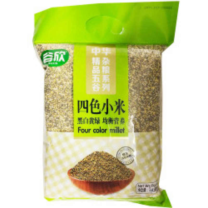 GUXIN: Four color millet-4LBs