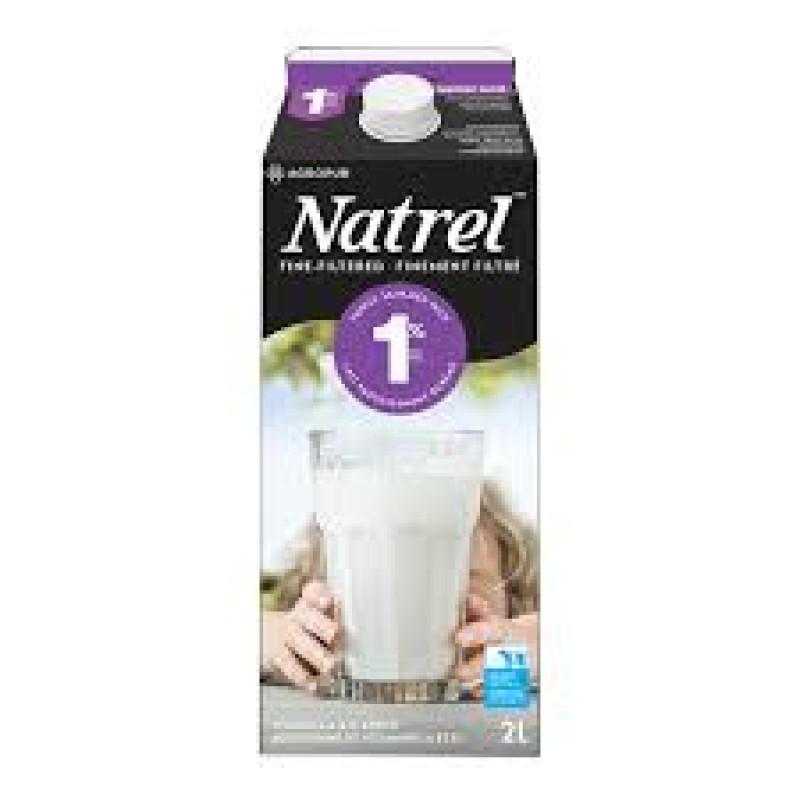 1% NATREL Milk - 2L