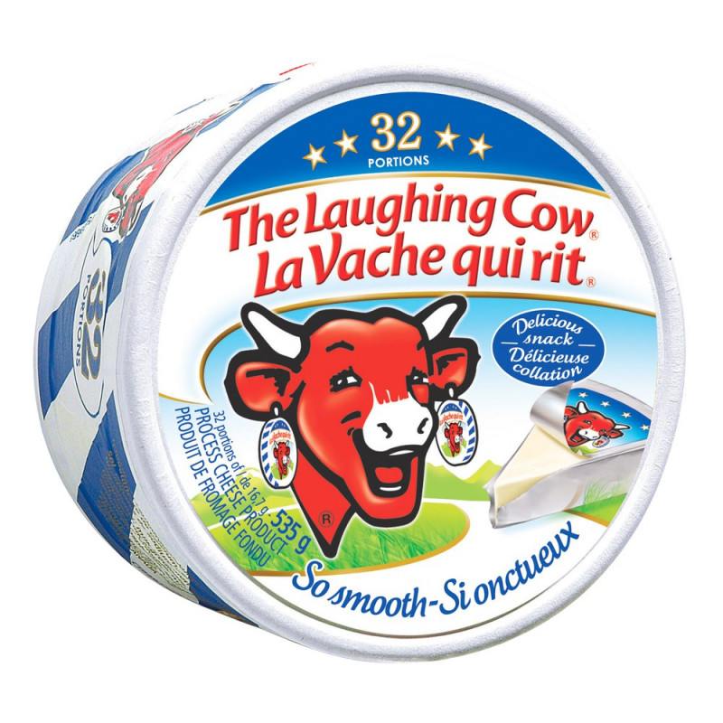 The laughing cow Process cheese