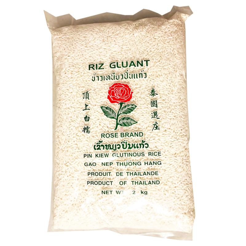 ROSE BRAND: Pin Kiew glutinous rice-2kg