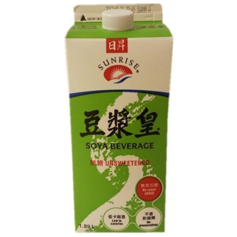 Sunrise Soya Beverage - no sugar