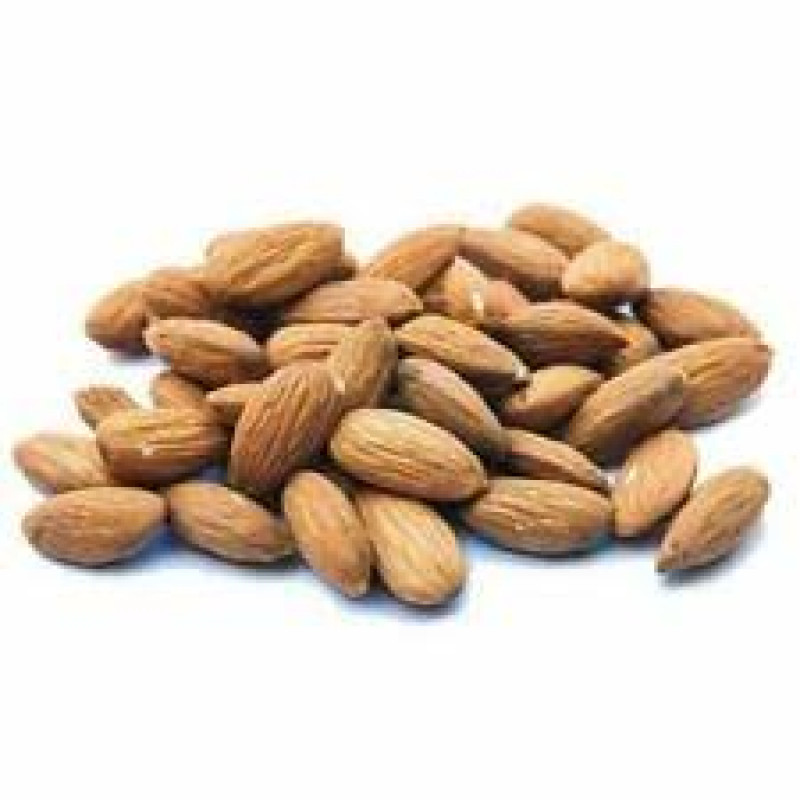 fresh nut almonds roasted salted - 200g