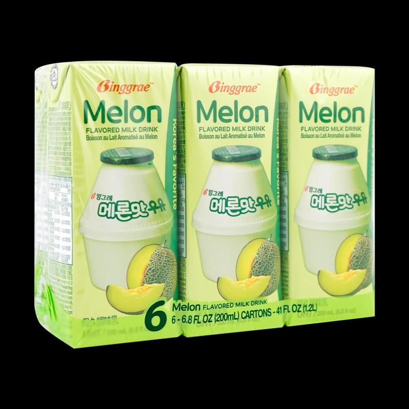 Melon Flavored Milk 6pack