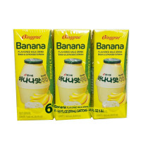 BINGGRAE BANANA FLAVORED MILK DRINK(6PCS)