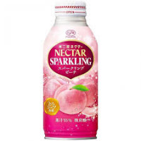Fujiya White Peach Juice Soda Drink