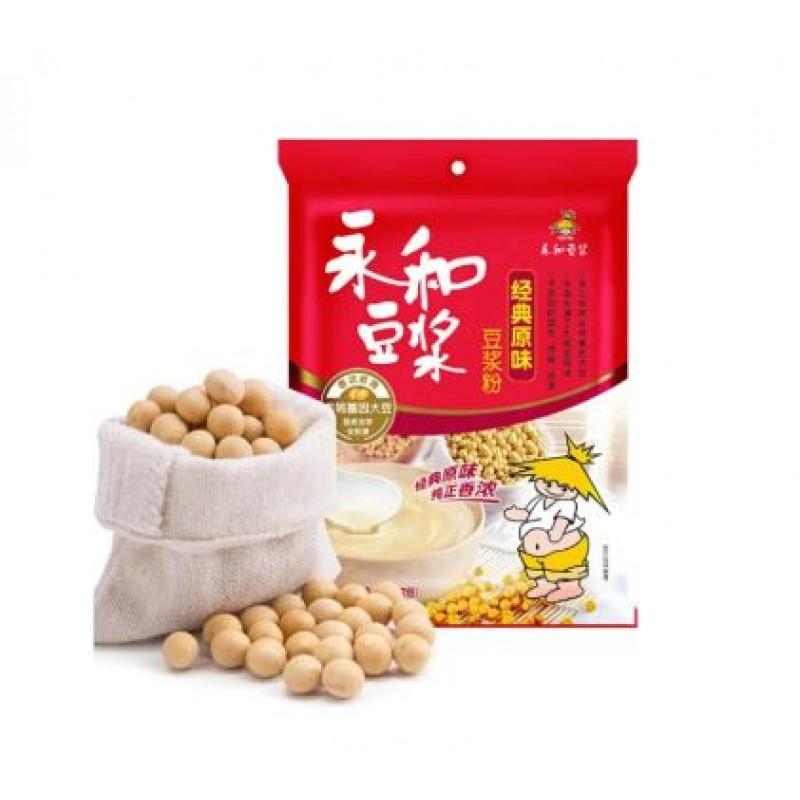 Yonghe Soy Milk Soy Milk Powder Instant Soy Flour Classic Original Flavor 12 Packs 350g