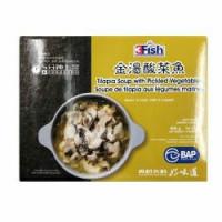 3fish sauekraut fish (szechuan style)