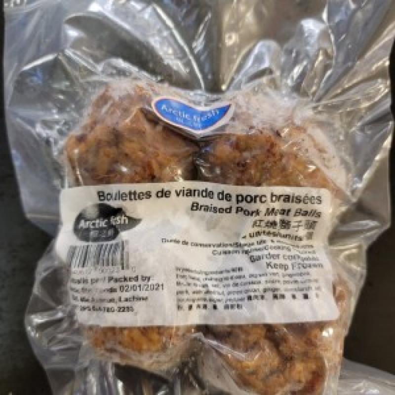 braised pork meat balls