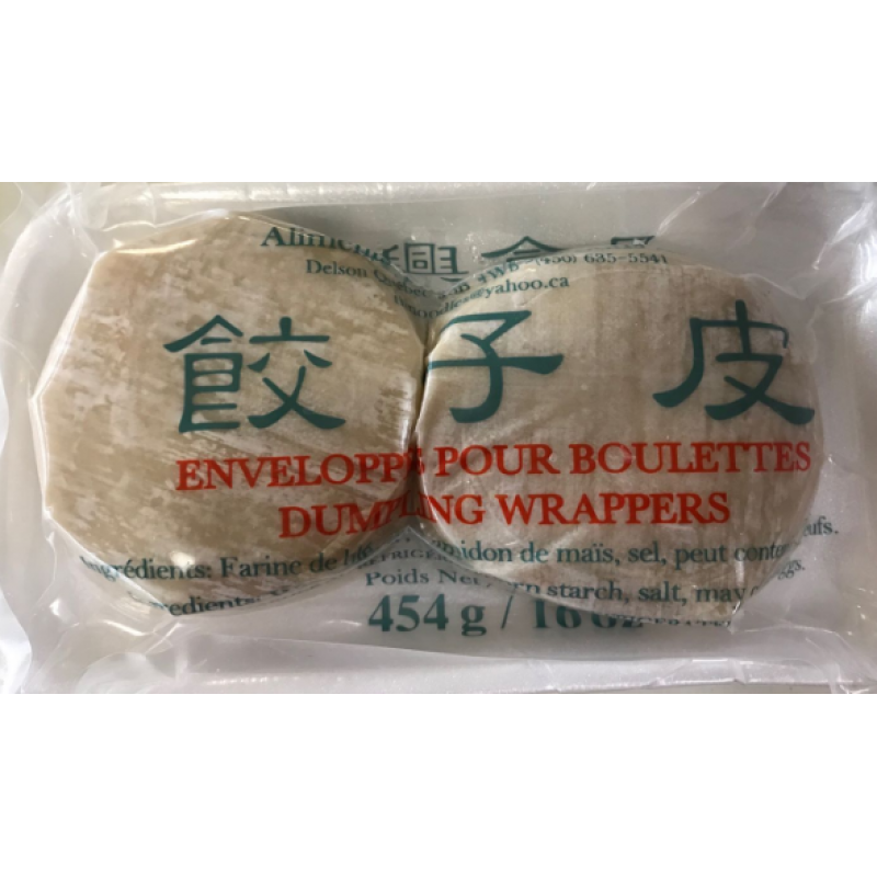 Dexing dumpling wrappers
