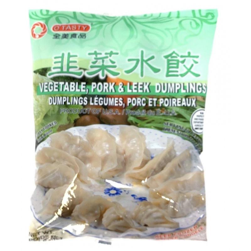 O'Tasty Vegetable Pork & Leek Dumpling 567g