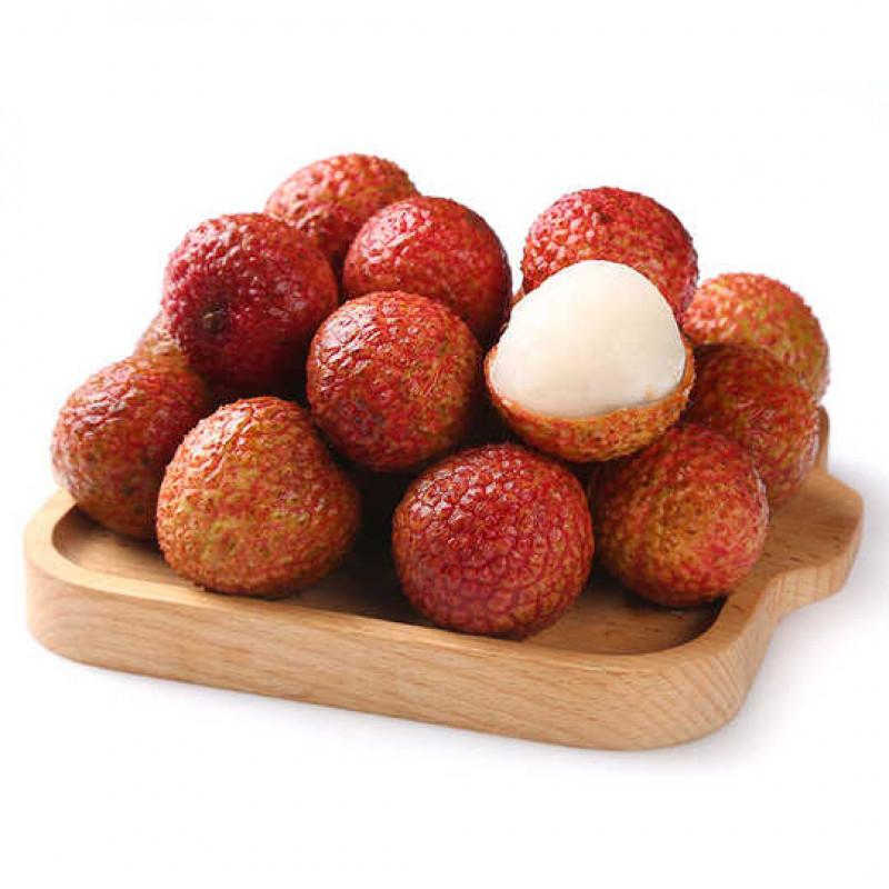 Fresh red lychees(1LB/bag)