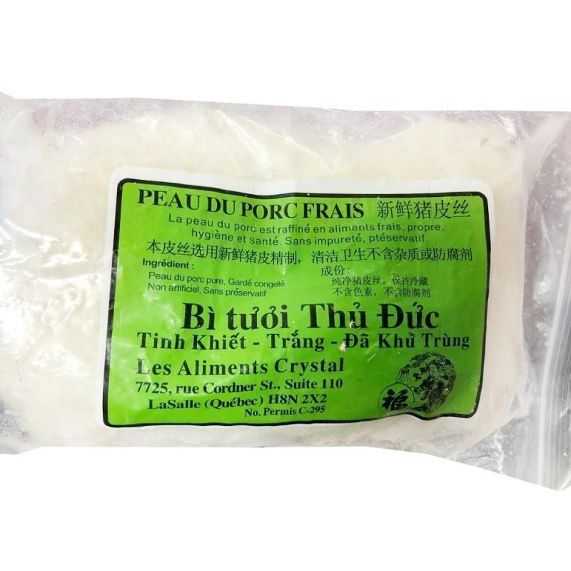fresh pork skin