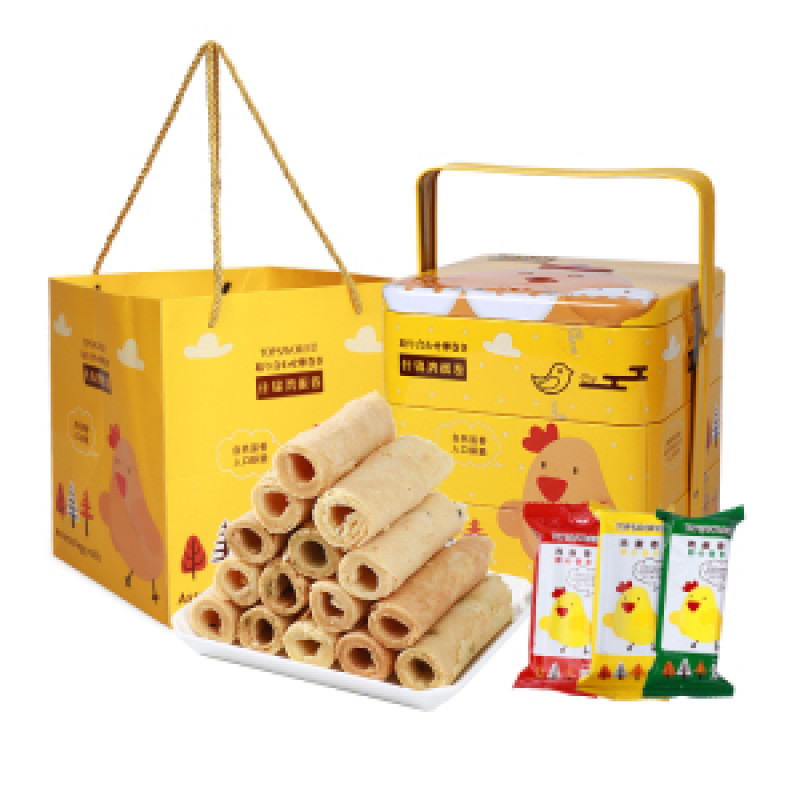 JINYU Assorted Egg Rolls 328g
