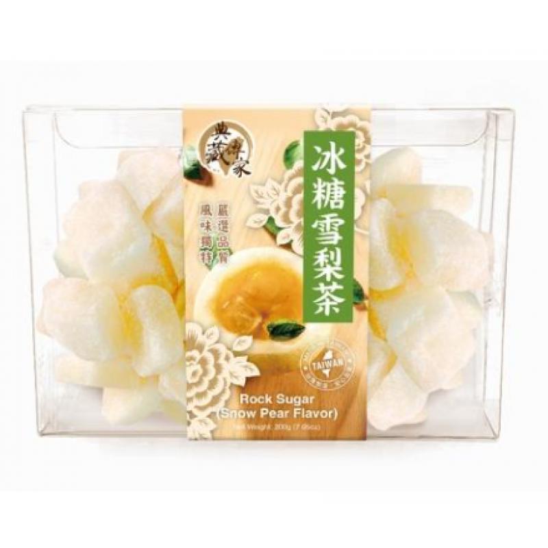 Snow Pear Flavor Rock Sugar 200g
