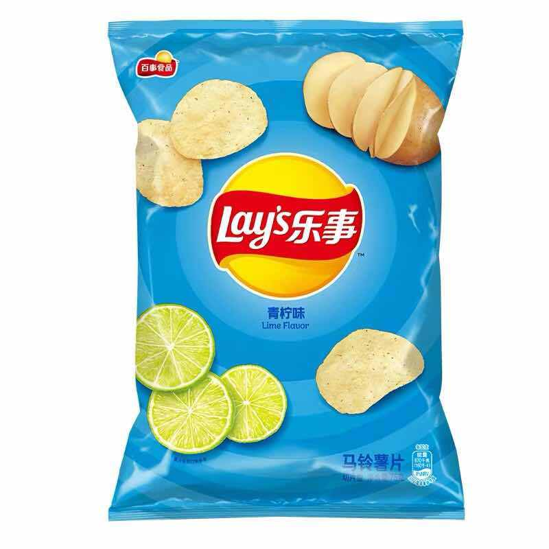 Lay's: Lemon Flavour Potato Chips-135g