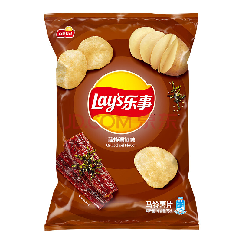 Lay's: Potato Chips (Grilled Eel Flavour)-70g
