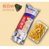 LLCRISP: Chinese Yam Chips (Seaweed Flavor)-188g