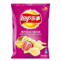 Lay's: Potato Chips (Mexican Tomato Flavour)-70g