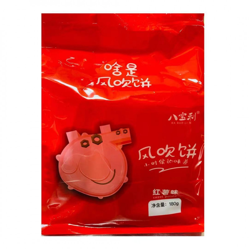BABAOLI: Cracker (Sweet Potato Flavor) 180g