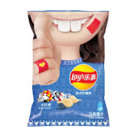 Lay's: Milk Candy Flavour Potato chips-125g