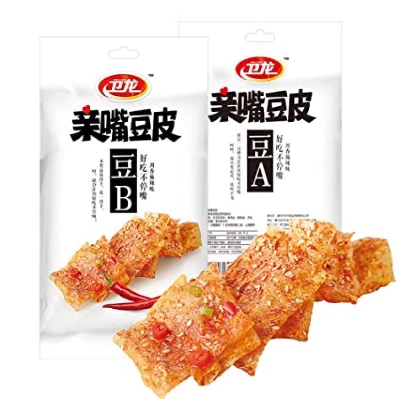 Dried Bean Curd Sichuan Spicy Flavor