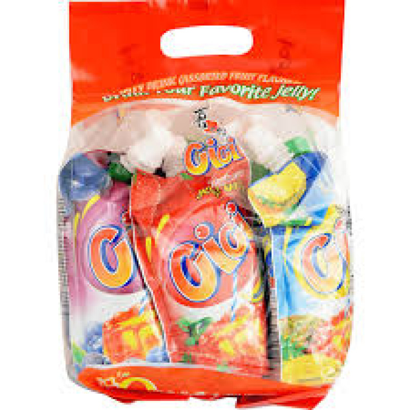 Cici Fruit Jelly Drink 6Pk Assorted