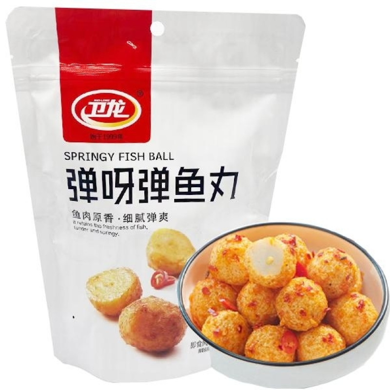 springy fish ball-bbq