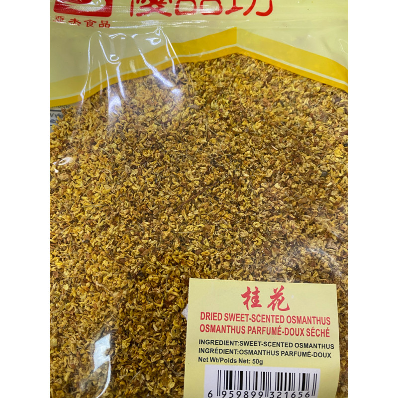 Dried sweet scented osmanthus