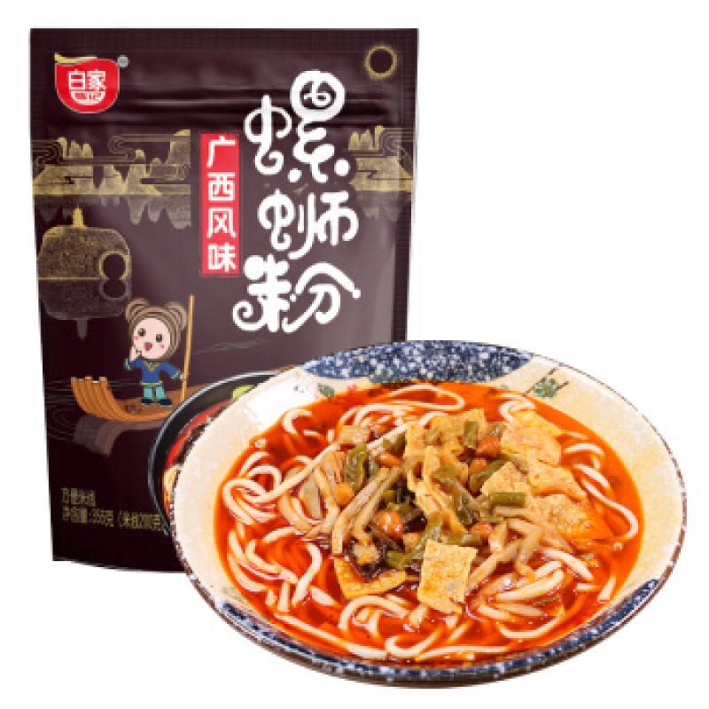BAIJIA: Instant Noodle Snail Flavor 355g