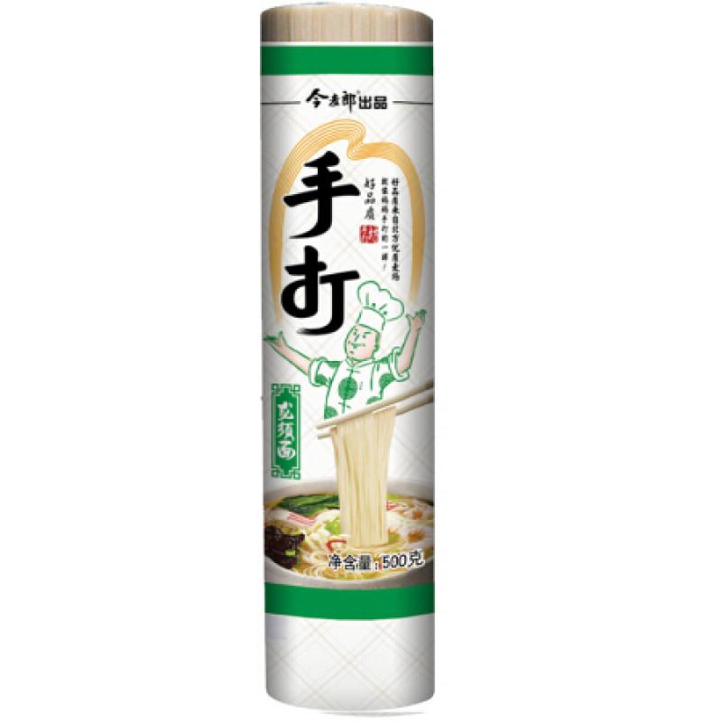 Hand noodles - dragon whiskers noodles