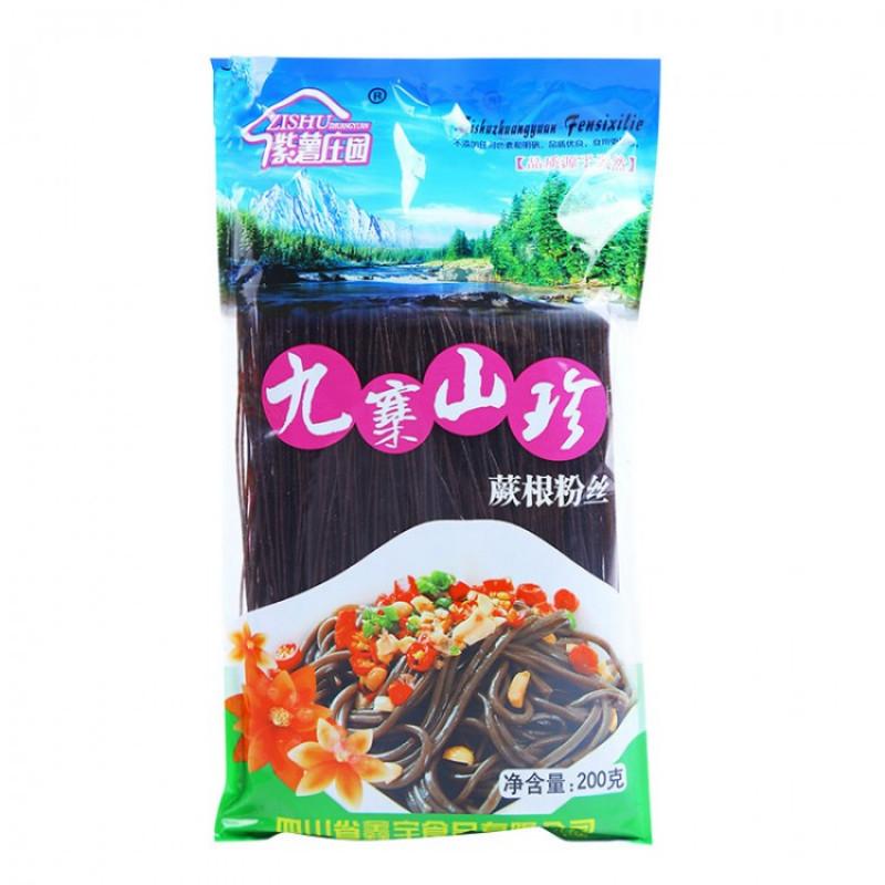 Fern Root Noodles