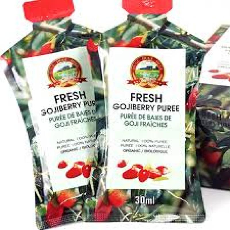 Fresh Gojiberry Puree - 2 pieces