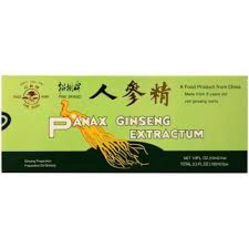 PINE BRAND PANAX GINSENG EXTRACTUM ORAL LIQUID 10 x 10ml