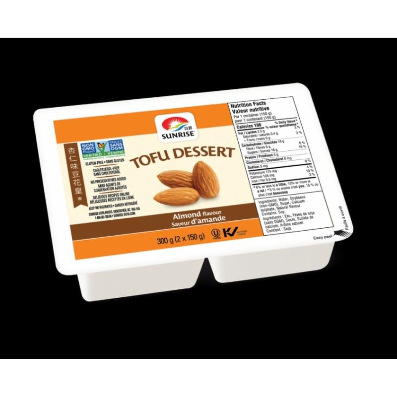 sunrise tofu dessert (almond)-300g