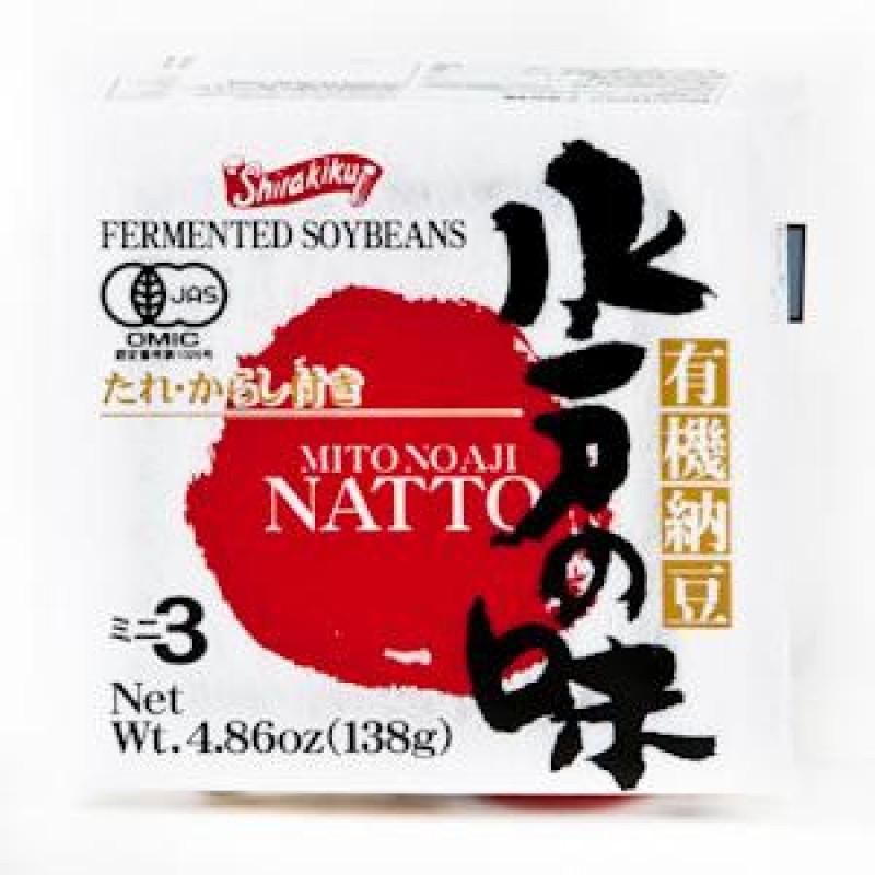 shirakiku: Fermented Soybeans Mitonoaji Natto-136.5g