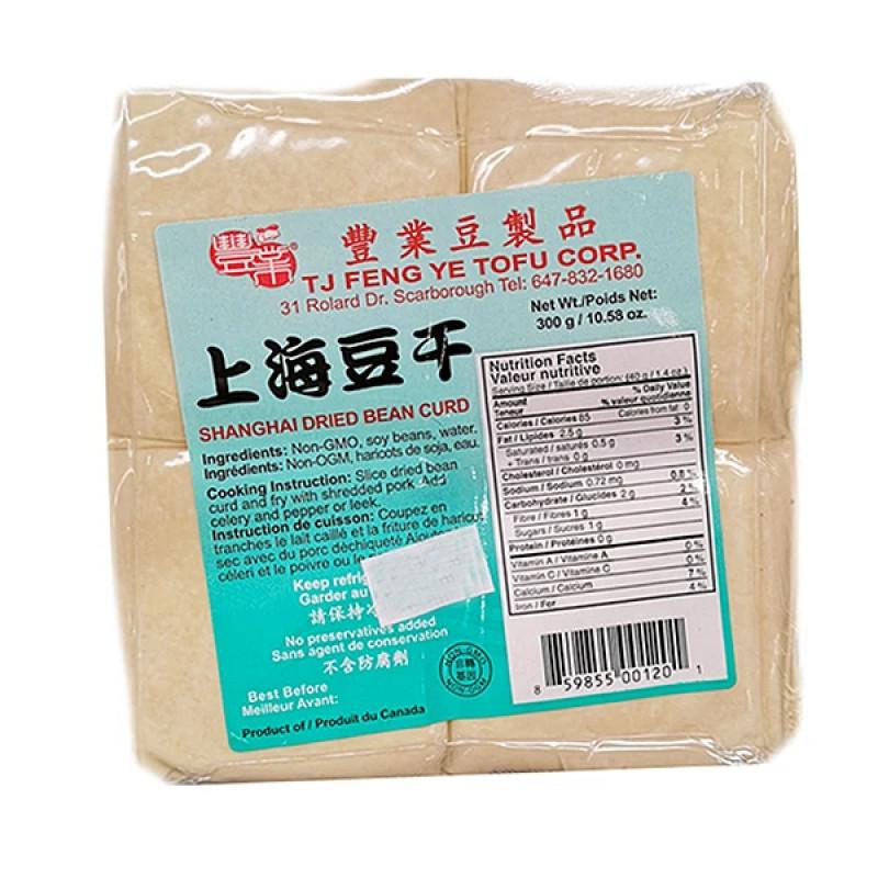 Shanghai dried bean curd