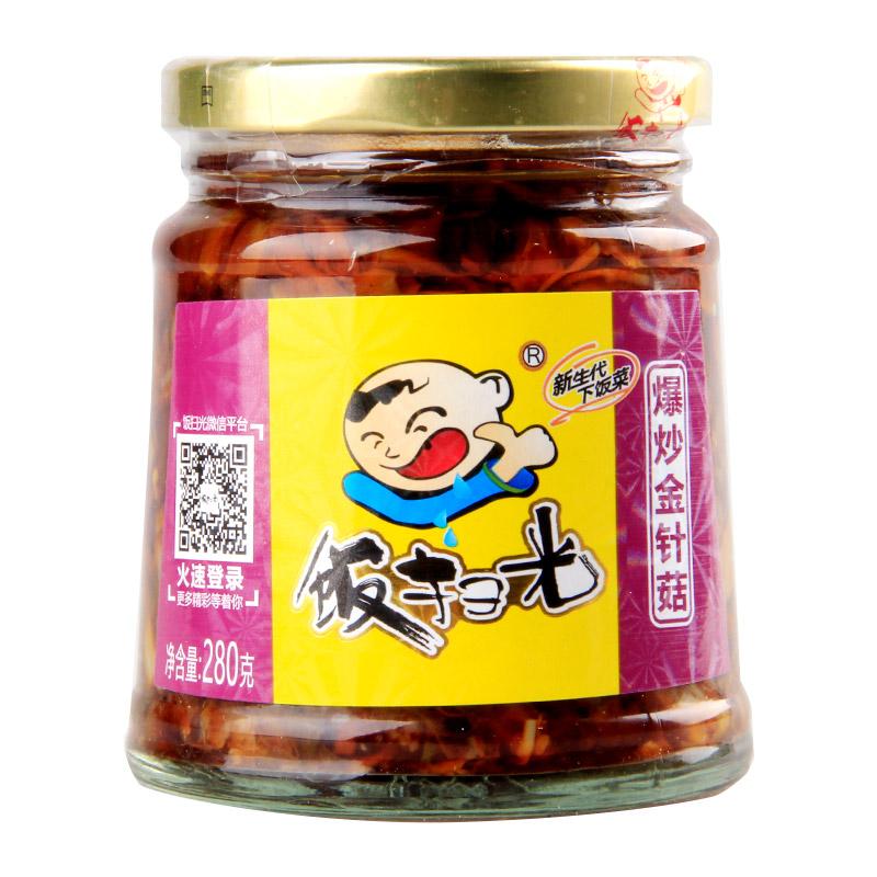 FANSAOGUANG: Pickled Enoki Mushroom-280g