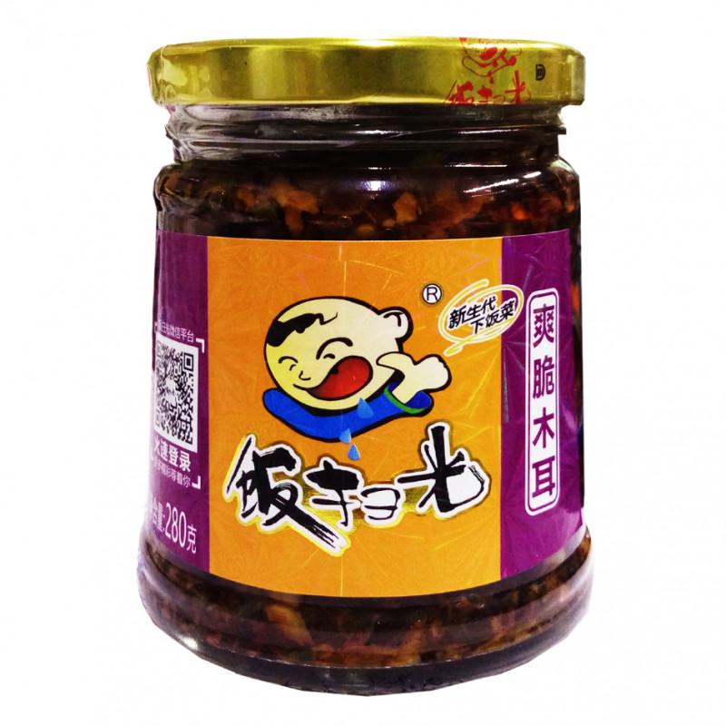 FANSAOGUANG: Pickled Crisp Black Fungus-280g