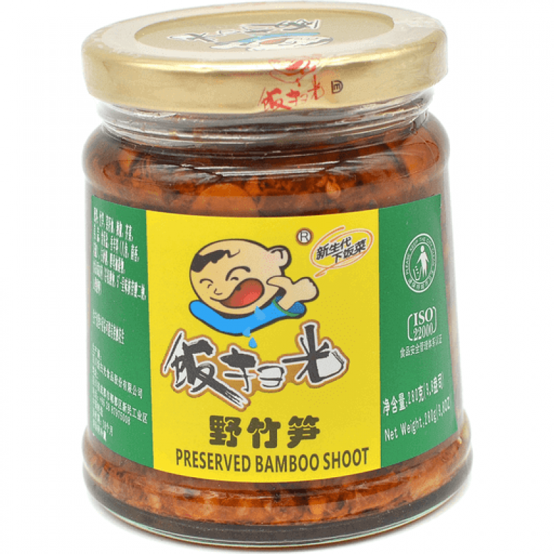 FANSAOGUANG: Pickled Bamboo Shoot-280g