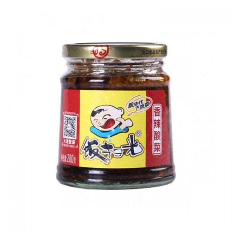 FANSAOGUANG: Preserved Pickles Mustard-280g