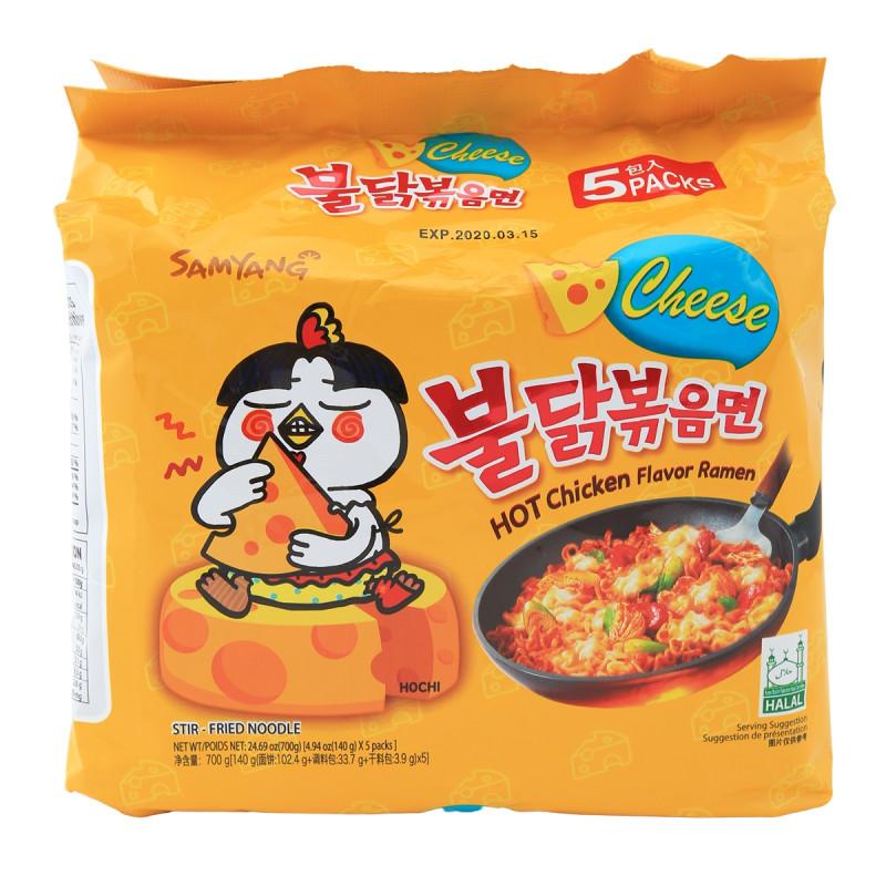 Samyang Cheese Hot Chicken Fried Ramen
